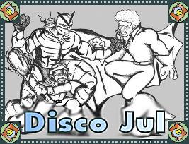 DISCO JUL web comic a silly Superhero Parody
